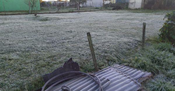 Cidades do RS e Uruguai tem amanhecer com temperaturas próximas dos 0°C