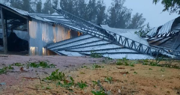 ANÁLISE | Tempestades associadas a Bow Echos foram responsáveis por ventos severos no sul gaúcho