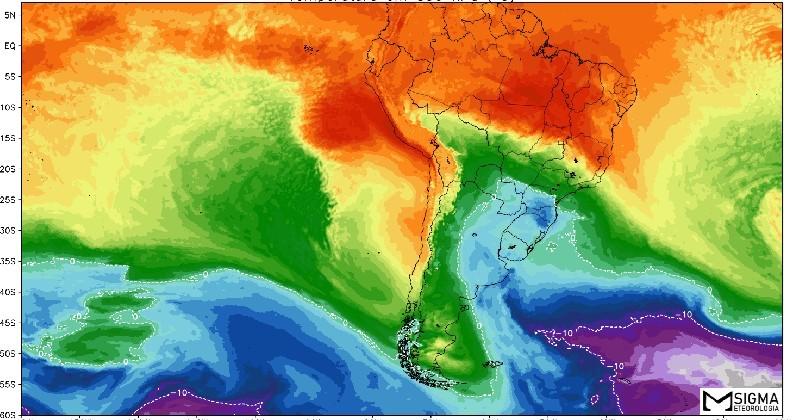MUDANÇA | Calor antecede novo período com ar polar intenso em áreas do Brasil