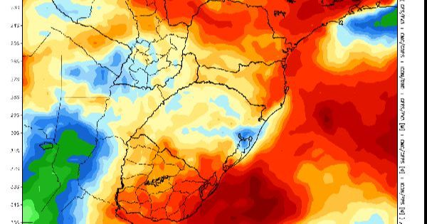 PROJEÇÃO | Volumes de chuva nos próximos 7 dias