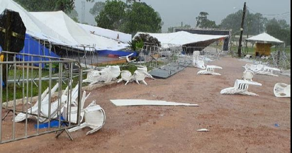 Tempestade severa deixa rastros de destruição no sul gaúcho